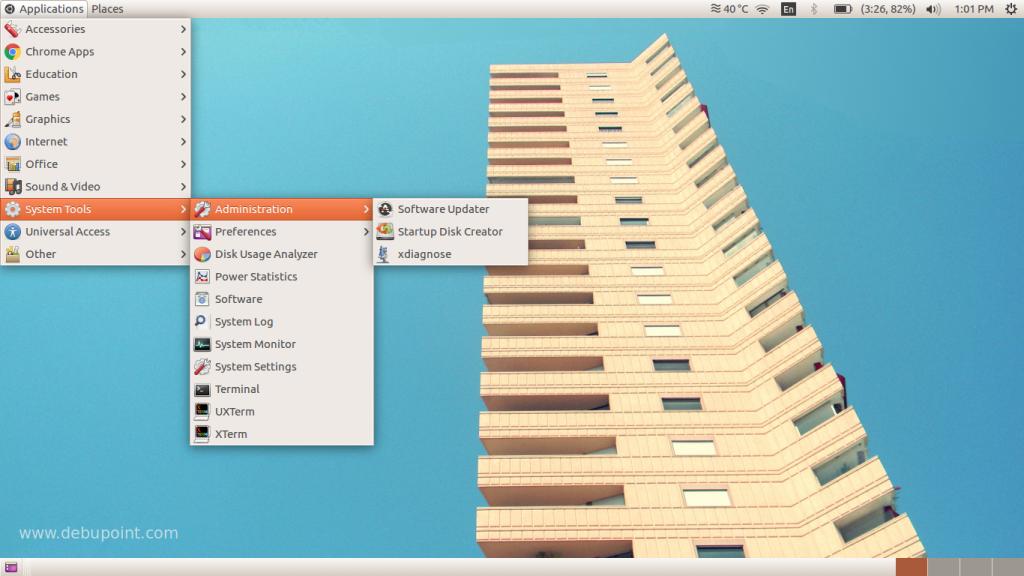 Classic GNOME Running on Ubuntu 16.04 Xenial Xerus